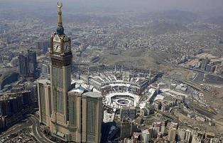Top view of Masjid-ul-haram